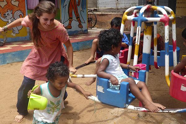 Volontariat bewegt in Indien