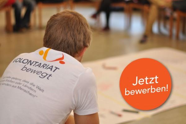 Freiwilliger Auslandsdienst: jetzt bewerben!