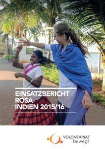 Einsatzbericht Indien Rosa Volontariat bewegt