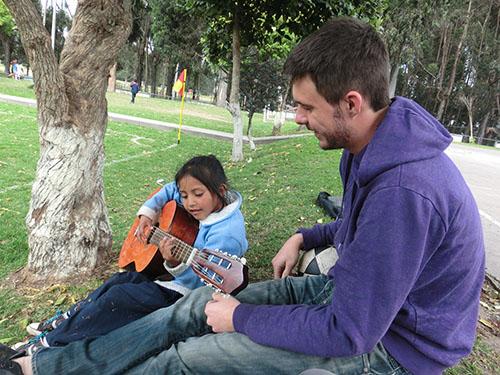 Tobias in Quito