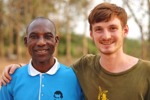 Social Worker Joseph Anane und Max